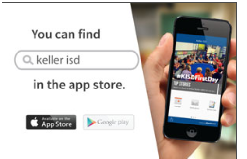 DOWNLOAD THE KISD APP TODAY!